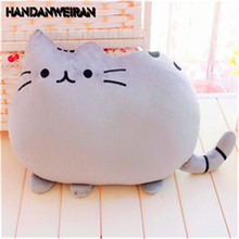 цена 15cm fat Cat Plush Toys Stuffed Animal Doll Animal Pillow Toy  Cat For Kid Kawaii Cute Cushion  for girls' &boys'&kids' Gifts ho онлайн в 2017 году