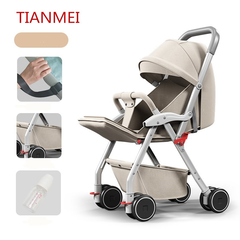 Four Wheel Baby Carriage Ultra Lightweight Car Car Seat Can Sit Down 0-5years Child Cart Baby Carriage Shock Proof Baby Stroller children twist car yo walker can sit four wheel scooter baby stroller toy car