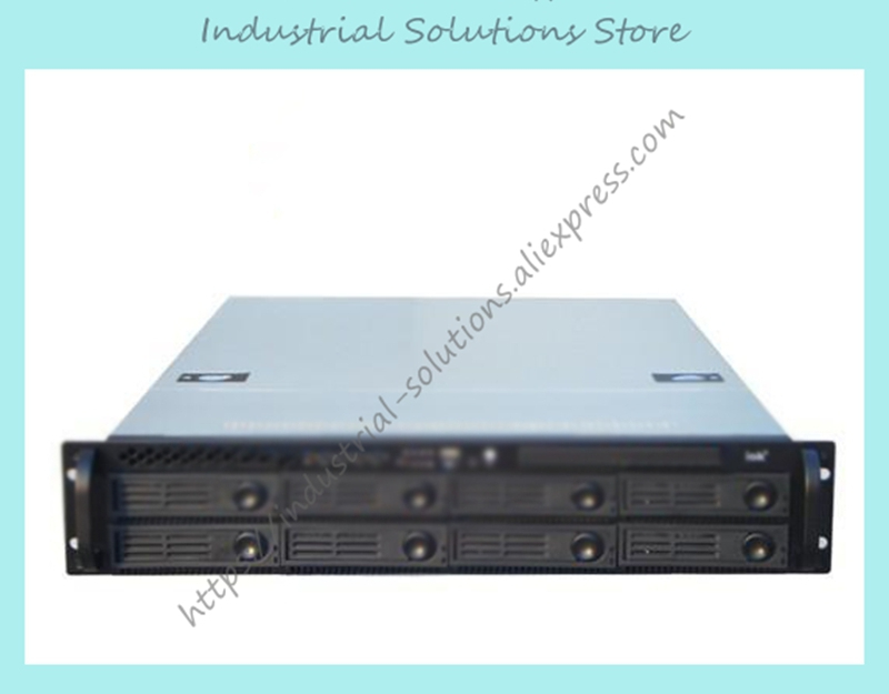 New IOK S2841 8 Hot Plug Hard Drive 2u Server Computer Case Industrial Computer Case Mini Sas