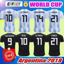 top thai quality 2018 world cup Argentinaing Soccer Jersey Home away jerseys  Messi Aguero Di Maria 70a1e9ba8
