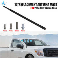 For 2004-2017 Nissan Titan FM Antenna Signal Amplifier Radio Antenne Rubber Aerial Mast Whip Vehicle Roof Antena WISENGEAR /