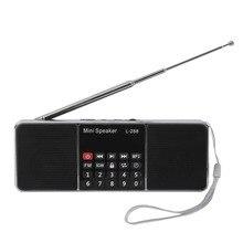 Многофункциональный двухканальный цифровой Портативный MP3 музыкальный плеер Колонки громкоговоритель Поддержка TF карта USB Disk L288