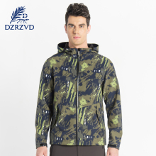 Winter men Outdoor Softshell Jacket spring windproof warm camouflage  coats outdoor climbing hiking Waterproof windbreaker daiwa full zip windproof fishing jacket for men lightweight windbreaker softshell outdoor jacket with hood