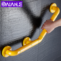 BAIANLE Bathroom Bathtub Handrail Stainless Steel Anti Slip Stair Arm Handle Elderly Safety Handrails Wall Mounted Grab Bar 45CM