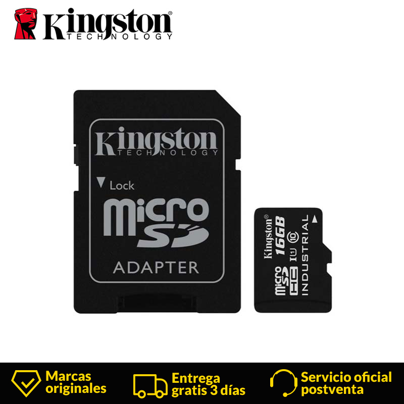 Kingston Technology Canvas Select 16GB MicroSDHC Class 10 Memory Card With Adapter 16 GB Micro Sd Card 80MB/s Data Read Speeds