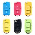 for vw Key Case 3 Button Remote Key Fob Case For VW Volkswagen Bora Beetle Golf Polo Passat for VW Bora