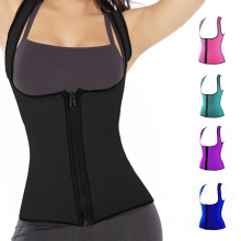 Women Sweat Slimming Vest Neoprene Body Shaper Waist Trainer Belly Fat Burning Weight Loss Corset XRQ88