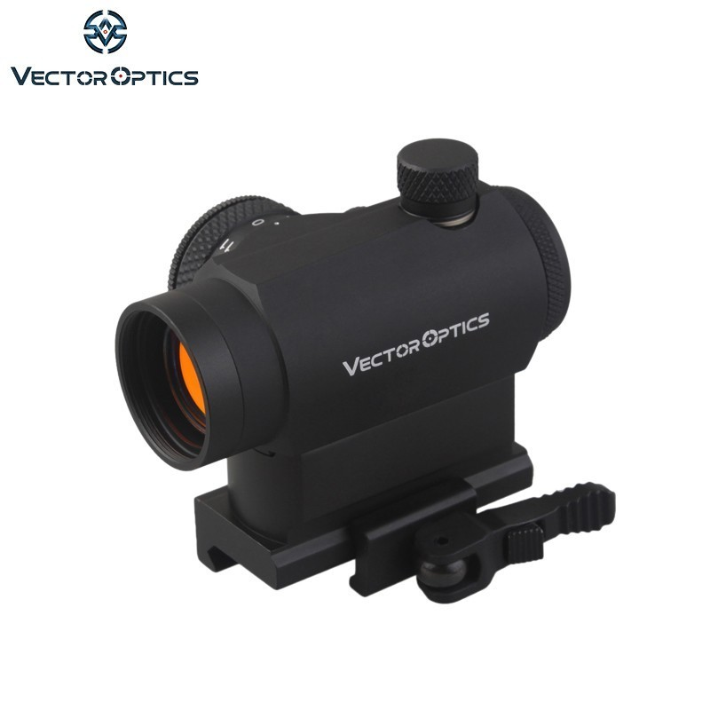 Vector Optics Maverick 1x22 Tactique Compact Red Dot Sight Portée avec Quick Release QD Mount Pour Réel Fusils armes de poing Airsoft
