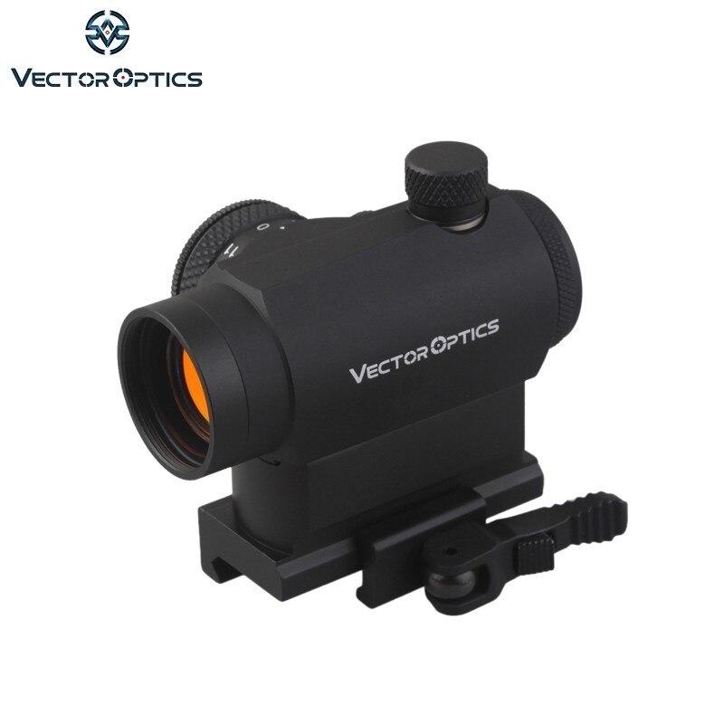 Vector Optics Maverick 1x22 Tactical Compact Red Dot Sight Scope com QD Liberação Rápida de Montagem Para Rifles Reais pistolas de Airsoft
