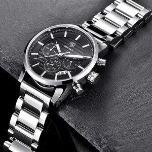 Image 3 - 2020 BENYAR למעלה מותג יוקרה גברים של שעונים מקרית אופנה הכרונוגרף ספורט צבאי קוורץ שעון יד שעון Relogio Masculino