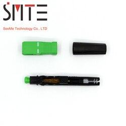 100 pçs/lote ZF 8802-TLC/3 60mm conector SC/APC conector de fibra Óptica FTTH De Fibra óptica