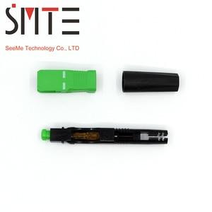 Image 1 - 100pcs/lot ZF 8802 TLC/3 60mm connector SC/APC Optical fiber connector FTTH Fiber optic