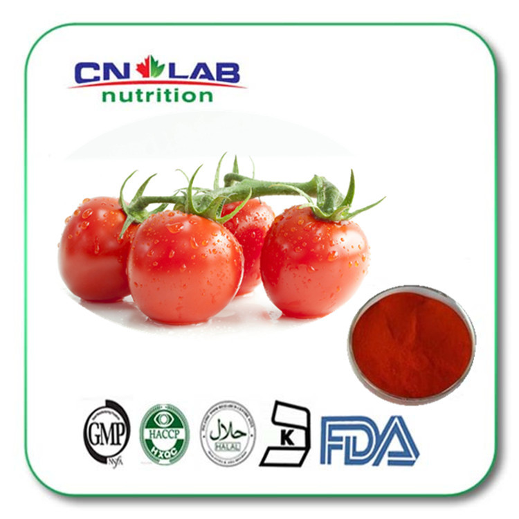200g/bag Tomato Extract Lycopene 5% Lycopene Powder water soluble Lycopene free shipping Fruit Extract