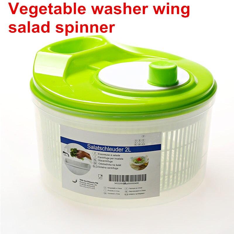 Obst Gemüse Dörr Trockner Sieb Korb Obst Waschen Sauber Ablagekorb Washer Trocknen Maschine Reiniger Salat Spinner