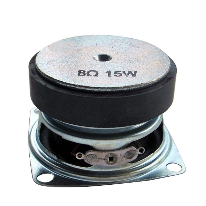 2PCS 2 Zoll Mini Tragbare Audio Lautsprecher 4/8Ohm 8/15W Vollständige Palette Multimedia Lautsprecher für heimkino Sound System DIY T3LB