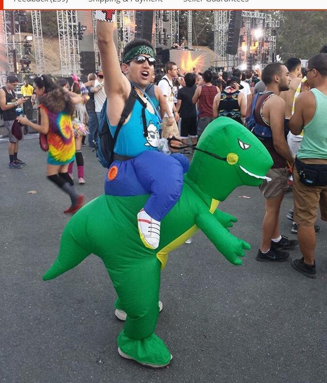 nuevo traje de dinosaurio inflable de halloween fiesta de disfraces de fantasa animales de disfraces