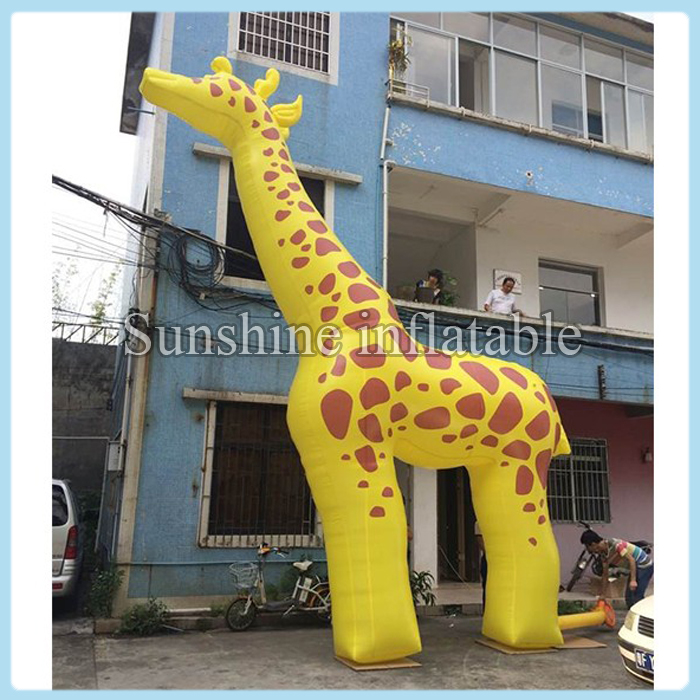 20ft Giant Fantasy Inflatable Giraffe For Advertising Or Party  Decoration(China)