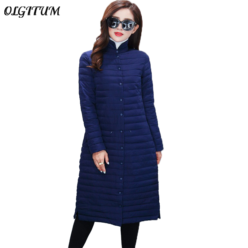 Women Coat 2017 New Korean Long Section Coat  Women's Singles Breasted Collar Fashion Slim thin Section Knee phil collins singles 4 lp