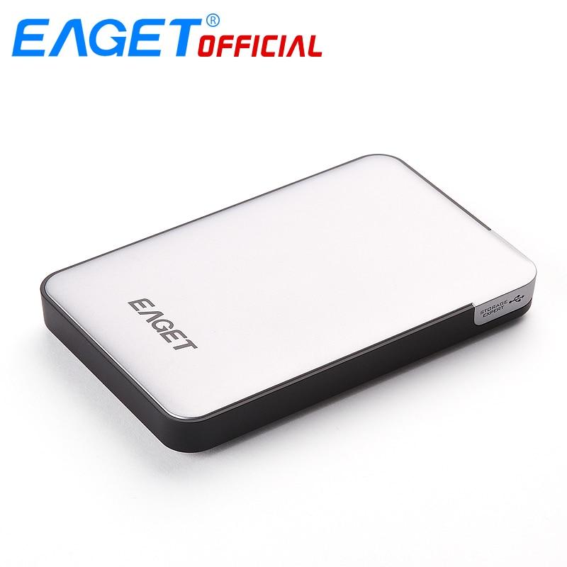 """Марка Eaget 2.5 """"500 ГБ-2 Т USB 3.0 High-Скорость противоударный Шифрование Внешние жёсткие диски HDD рабочего ноутбука мобильный жесткий диск"""
