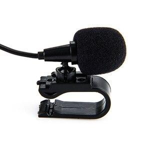 Проводной 3,5 мм стерео разъем мини автомобильный Микрофон внешний микрофон для ПК автомобильный DVD GPS плеер Радио Аудио Микрофон