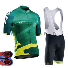 2019 NW Pro Team Cycling Jersey Set Ropa Ciclismo Bicycle Cycle Clothing Mallot Ropa Ciclismo bike clothes Bib Shorts 9D GEL #2 недорго, оригинальная цена