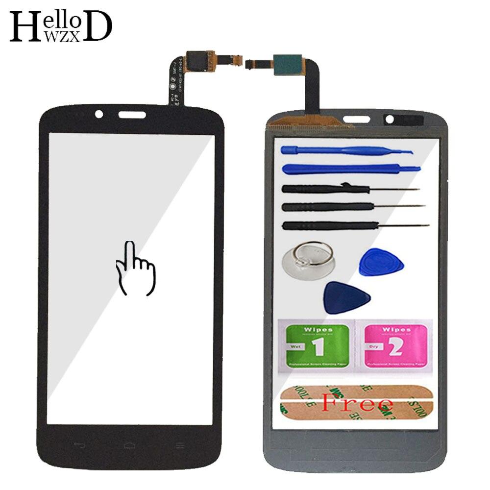 טלפון נייד 5.0 ''מסך מגע מגע זכוכית מסך מגע Digitizer לוח עבור HuaWei Honor 3C לייט עדשת חיישן כלים משלוח דבק