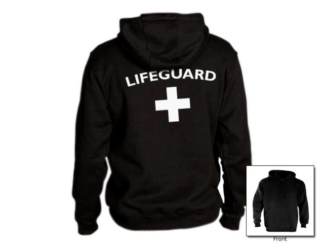 Autumn Winter Lifeguard Hoodies Men Long Sleeve Hoody Sweatshirts Women Red Life Guard Hooded Jumper Tracksuits Jacket Cardigan