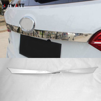 AITWATT Car Styling ABS Chrome External Rear Trunk Lid Cover Tail Gate Protector Trim For Hyundai