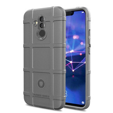 For Huawei Mate 20 Lite Case Hybrid Armor Matte Anti Fingerprint Anti Shock Protective TPU Back Cover For Huawei Mate 20 Lite топ blugirl топ