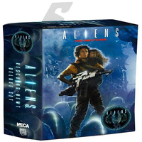 NECA Aliens Rescuing Newt Deluxe Set 30th Anniversary Ripley and Newt Action Figure Toys PVC Collection Model Dolls 18cm KT3346