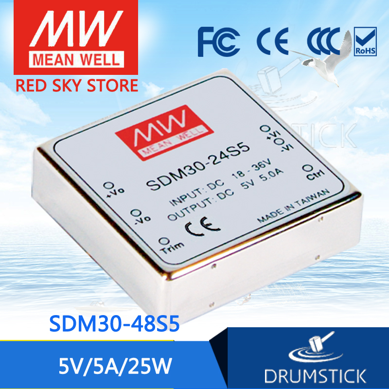 Advantages MEAN WELL SDM30-48S5 5V 5A meanwell SDM30 5V 25W DC-DC Regulated Single Output ConverterAdvantages MEAN WELL SDM30-48S5 5V 5A meanwell SDM30 5V 25W DC-DC Regulated Single Output Converter