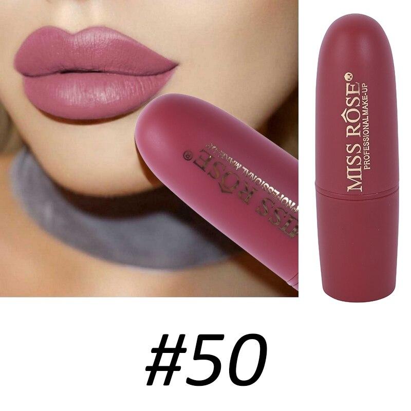 Women Makeup Lips Sexy Matte Lipstick Waterproof Velvet Batom Pigments Moisturizer Lipstick Matte Lips maquiagem New 18 41