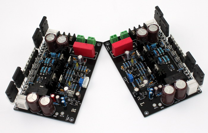 200W * 2 YJ00168 DARTZEEL Circuit TT1943 / TT5200 ON MJE15034 / MJE15035 Power Amplifier Board 145MM * 92MM