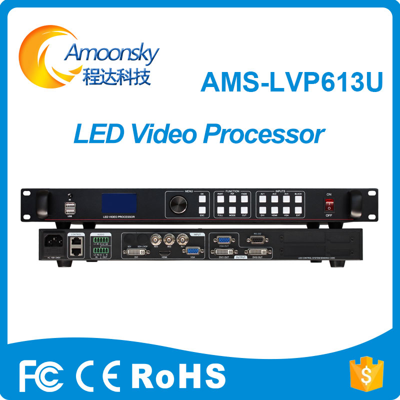 Amoonsky lvp613u led video processor for 1mm ecran led outdoor monitor led display moduleAmoonsky lvp613u led video processor for 1mm ecran led outdoor monitor led display module