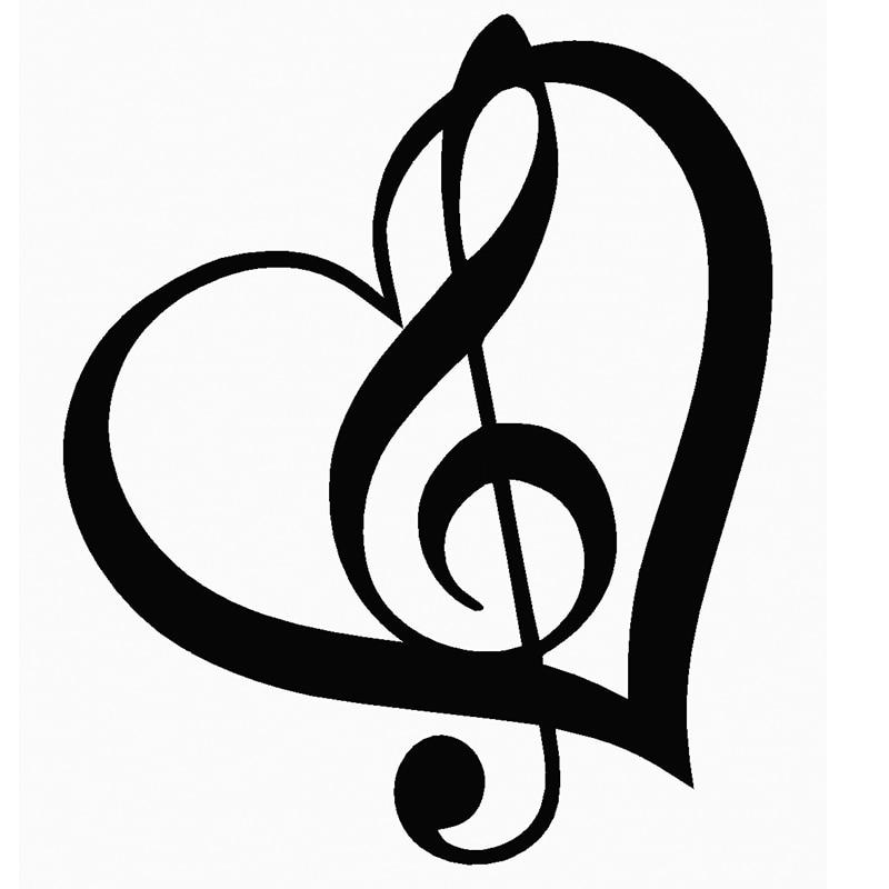 símbolo de musica nas redes sociais