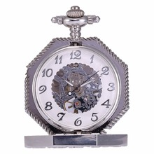 KS WATCH Hand Winding Movement Mechanical Pocket Watch