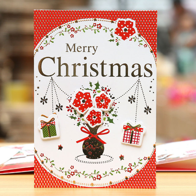 1 set hot stamping high grade merry christmas card envelope greeting 1 set hot stamping high grade merry christmas card envelope greetingmessage card postcard m4hsunfo