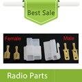 100 sets Х Кабель Питания Разъем Т-Образной Формы Для Yeasu FT-7800R Мужчина И Женщина