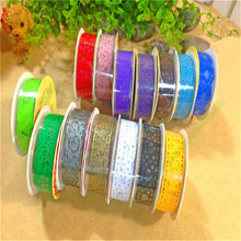 Cute Creative Lace Roll DIY Scrapbooking Paper Decorative Sticky Paper Masking Tape Photo Album Self Adhesive Stickers Wholesale(China)