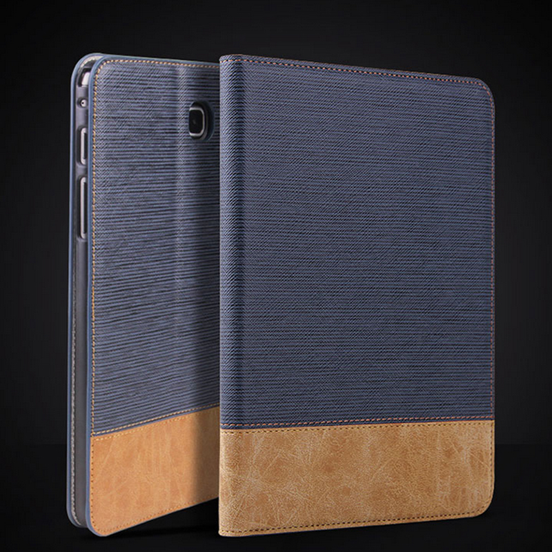 SM-P355 Luxury Stand Smart PU Leather Cover for Samsung Galaxy Tab A 8.0 T350 T351 T355 Tablet Case+Screen Protector +Stylus Pen new 8 inch for samsung galaxy tab a sm t350 t350 t351 t355 lcd display matrix touch screen digitizer full assembly t 350