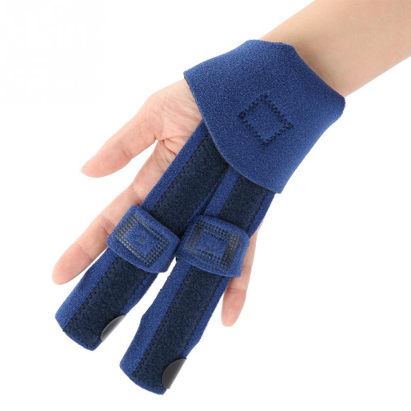 Adjustable Finger Splint Brace Stabilizer Support Sprained ...