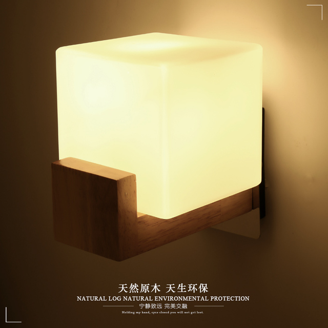 Modern glass Wall Lamps Mirror Lighting Bathroom Bedroom Mirror ...