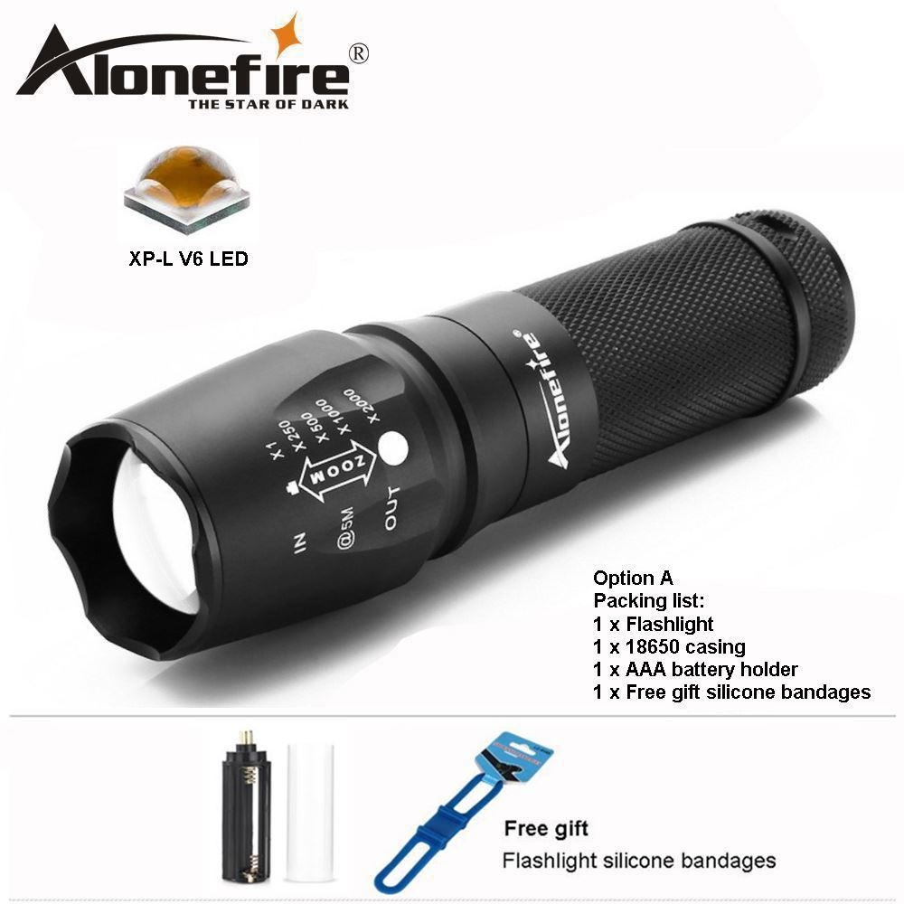 Camping & Hiking Ultrafire Tactical Zoomable 50000LM LED