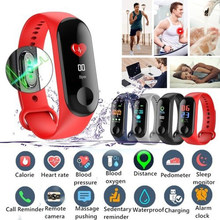 M3 Blood Pressure Oxygen Connected Watch Fitness Bracelet Activity Tracker Smart Watches M IP67 Waterproof Sport Wristband(China)