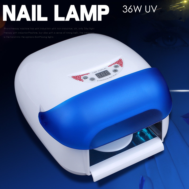 KESMALL Professional Nail Dryer 36W UV Lamp 220V Curing Light Nail Art Tools Drying Lamp EU Plug Nails Lamp for Manicure CO682 24 48w smart sensor nail dryer uv lamp curing light nail art tools polish drying led eu us plug nail lamp light manicure