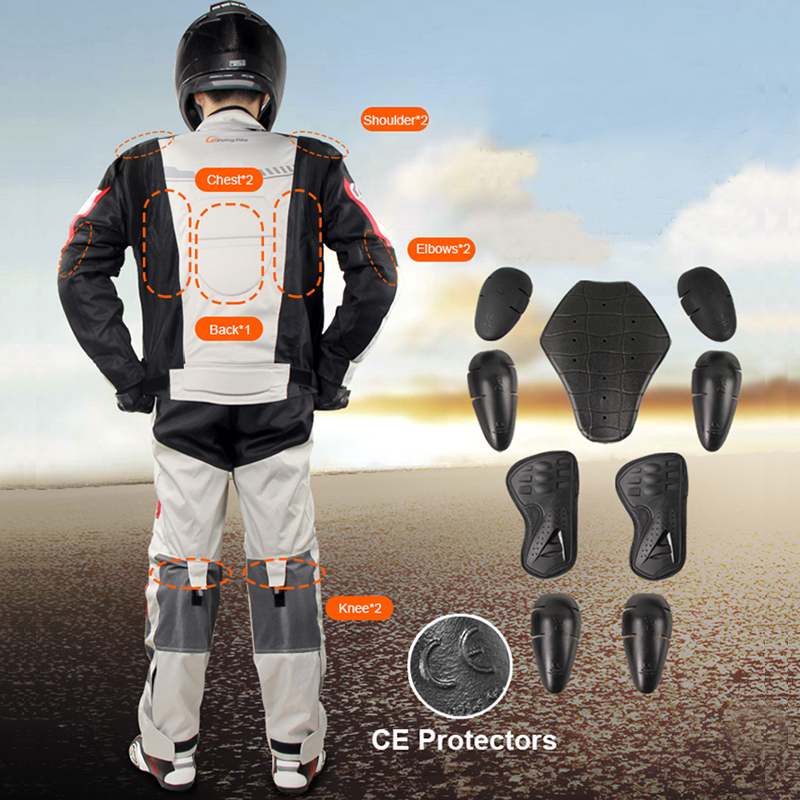 Riding Tribe Summer motocross jersey and pants Motorcycle jackets pants Dirt Bike Riding suit chaqueta moto