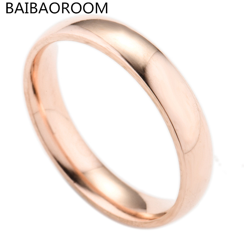 Wholesale Simple Ring Fashion Jewelry Men Women Couple Wedding Rings