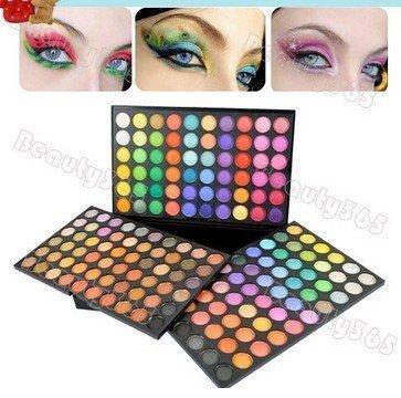 180 Colorean la gama de Cosméticos Mineral Make Up Maquillaje Eye Shadow Palette Kit Compras de La Gota