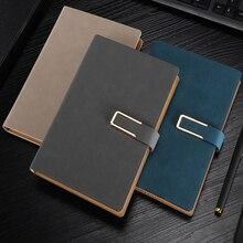 Дешевые Классический переплет офис школьной тетради канцелярские тонкой повязки планировщик ноутбук, 4 вида внутренняя бумаги: пустой линии сетки в горошек, A5