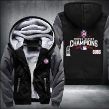 2017 new hot hoodies Mens Sweatshirts chicago cubs champions  USA Size fast ship full Fleece best quality